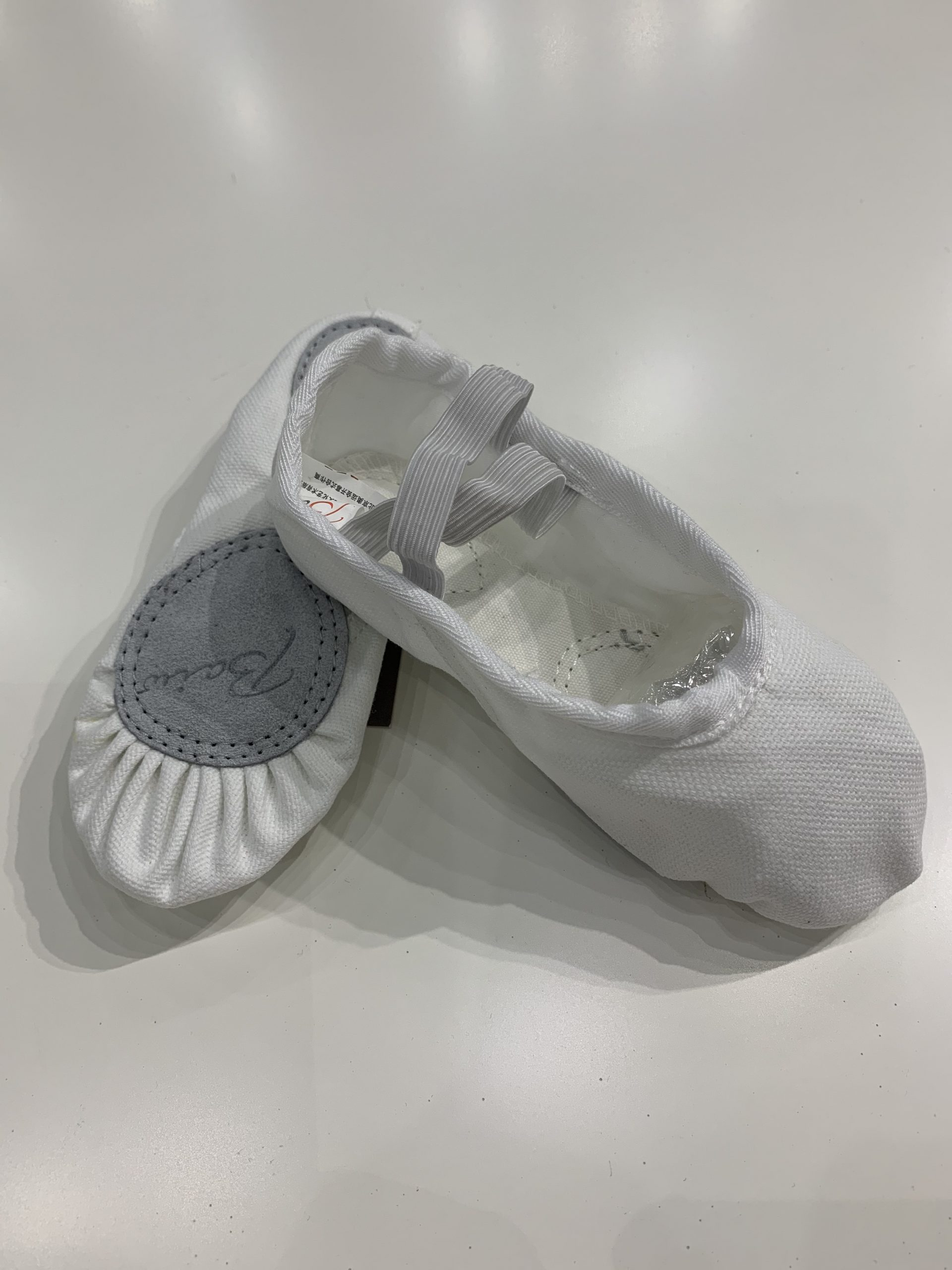 Firstpointe White Canvas Shoes Child
